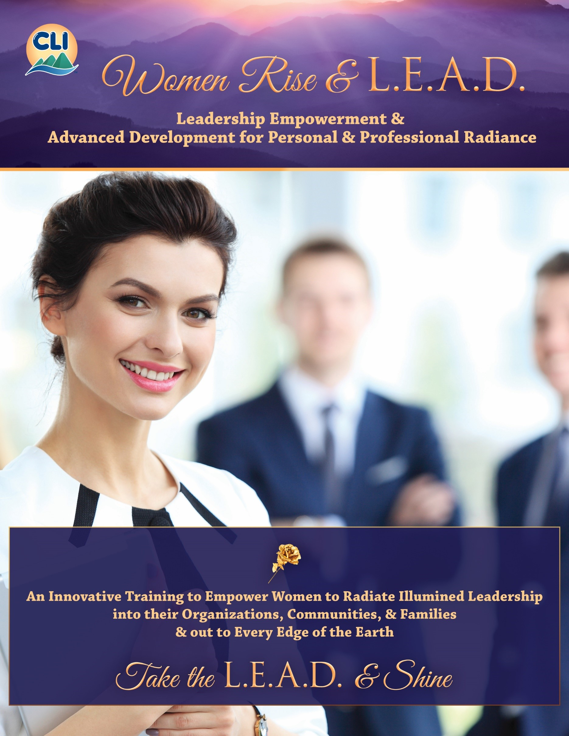 Download Brochure - Women Rise & L.E.A.D. for relationship building, communication, conflict resolution and self-esteem